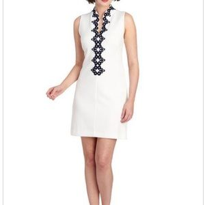 New  VINCE CAMUTO Soutache Sleeveless Shift Dress